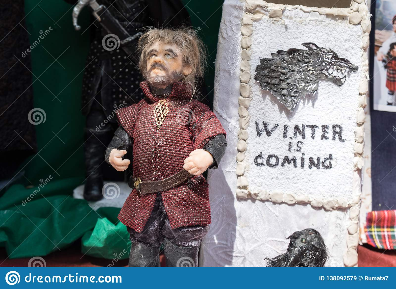 The puppet of Tyrion Lannister. Game of thrones character