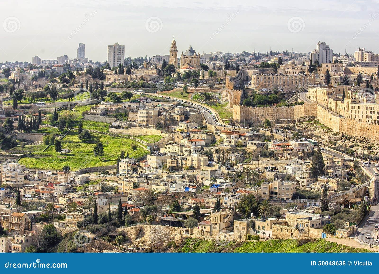 Urban plan Jerusalem Israel ai