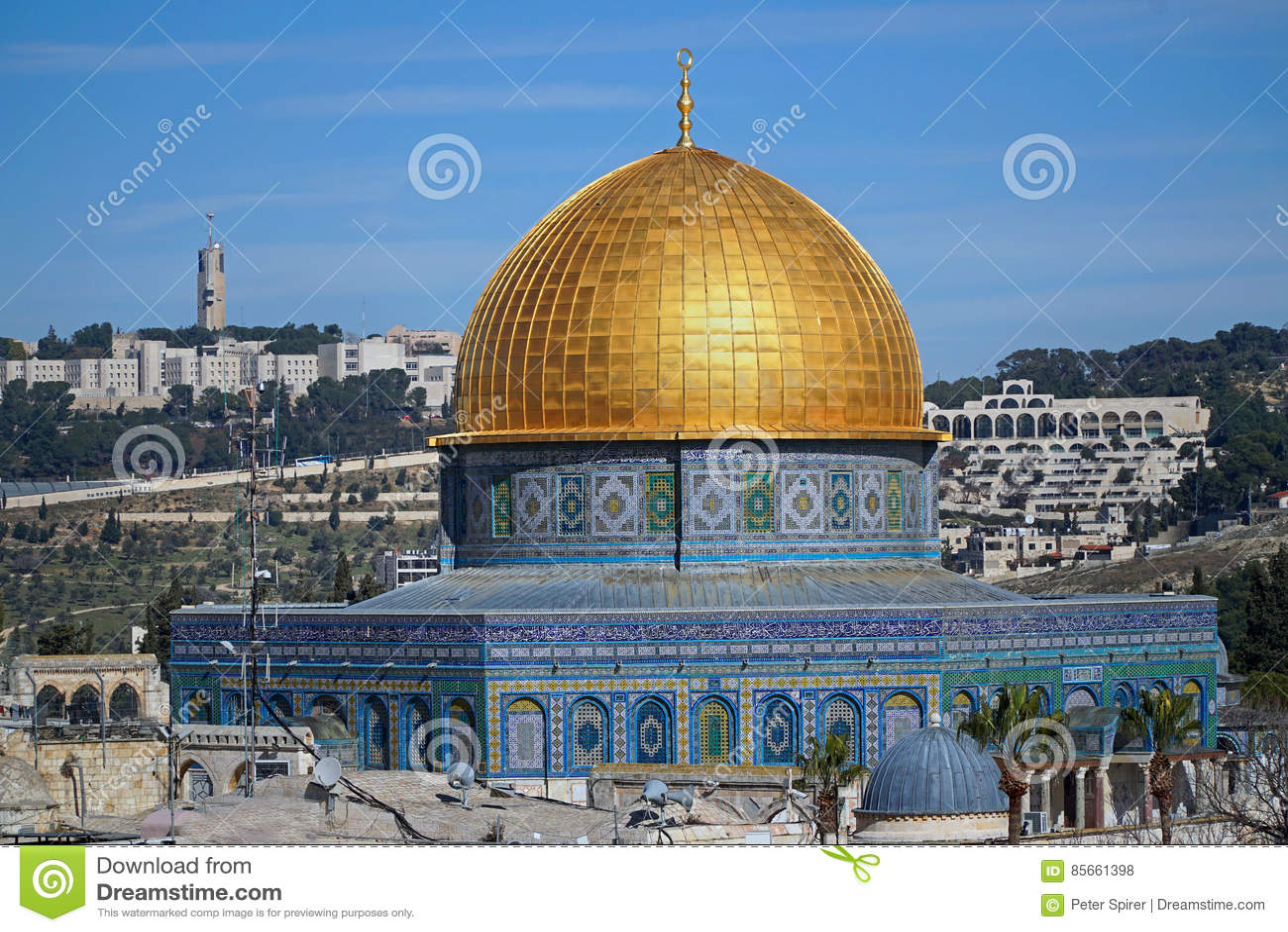Jeruzalem, Koepel van de Rots