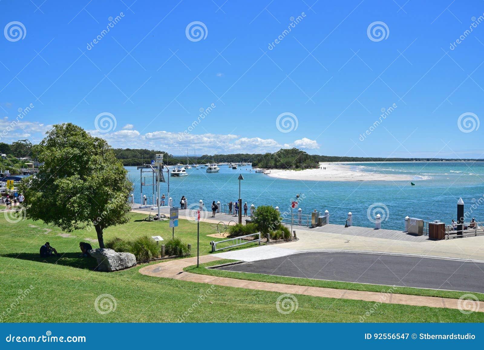 Jervis Bay Marine Park a Huskisson, Nuovo Galles del Sud, Australia