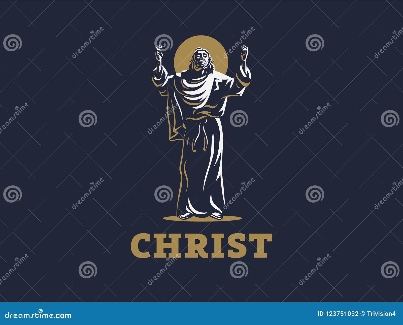Jesús aumentó sus manos en rezo