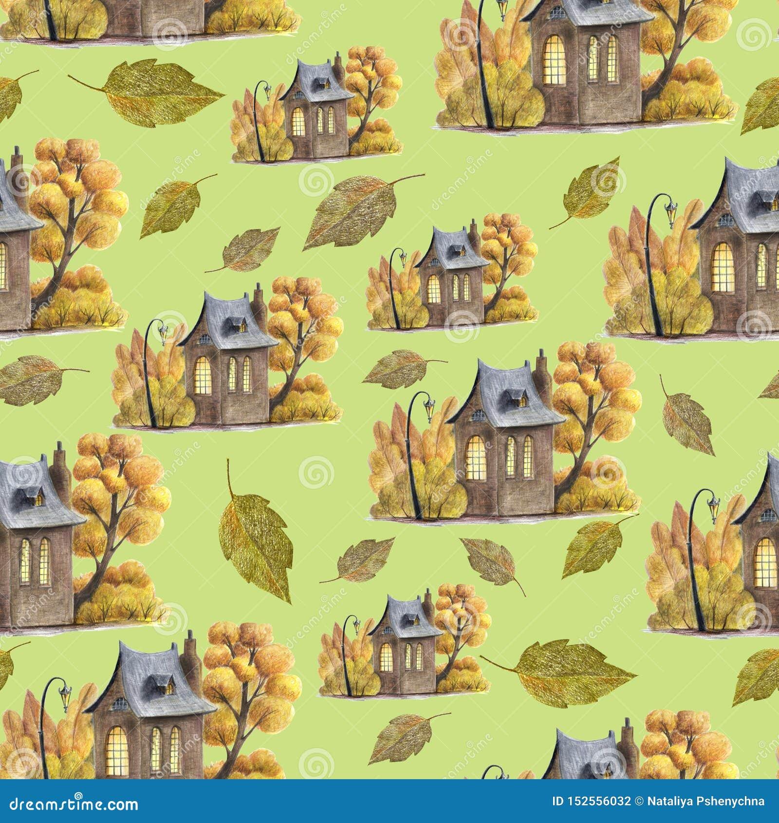 Jesień i liścia wzór mieścimy