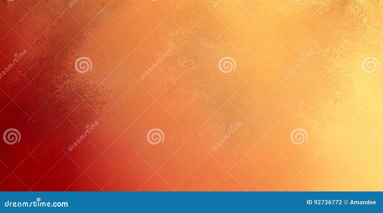 Jesień kolory czerwony pomarańczowy kolor żółty i złoto w textured rocznika tła projekcie