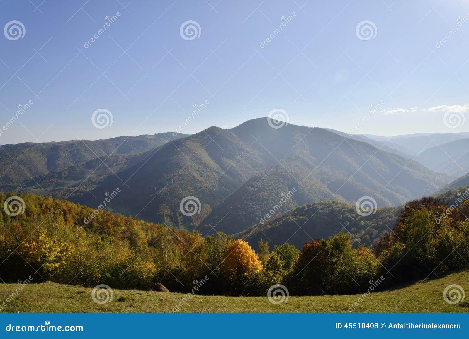 Jesień krajobrazowy Romania