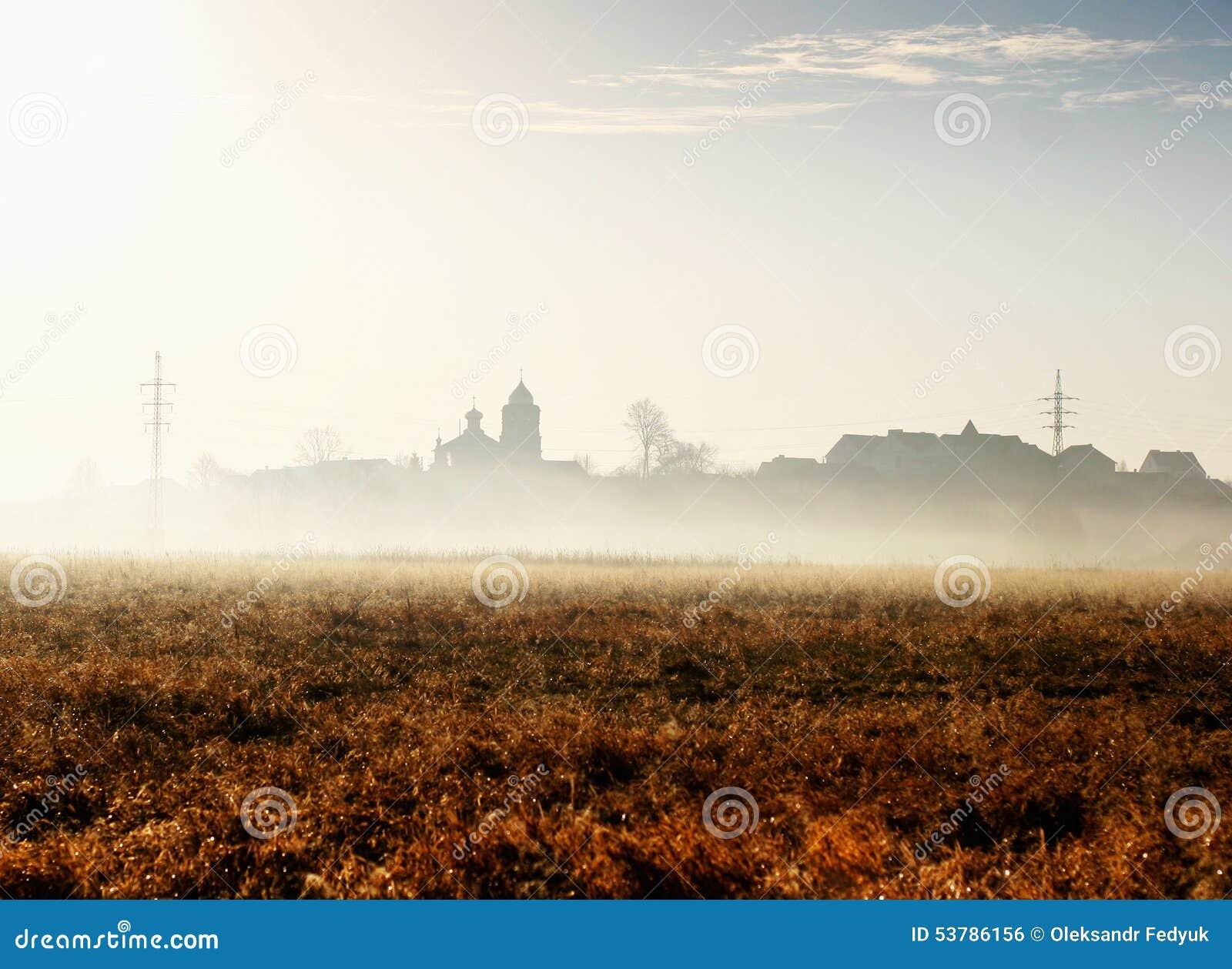 Jesień mgła