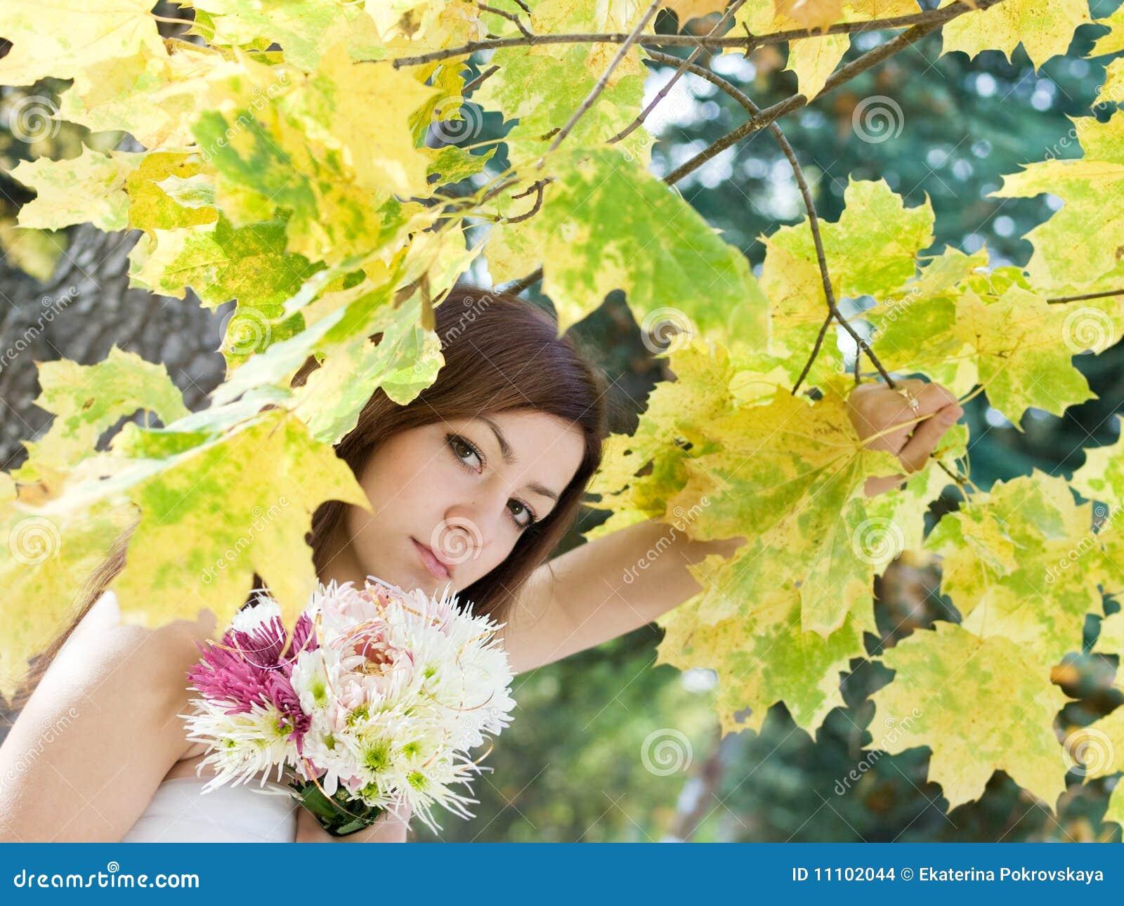Jesień panna młoda