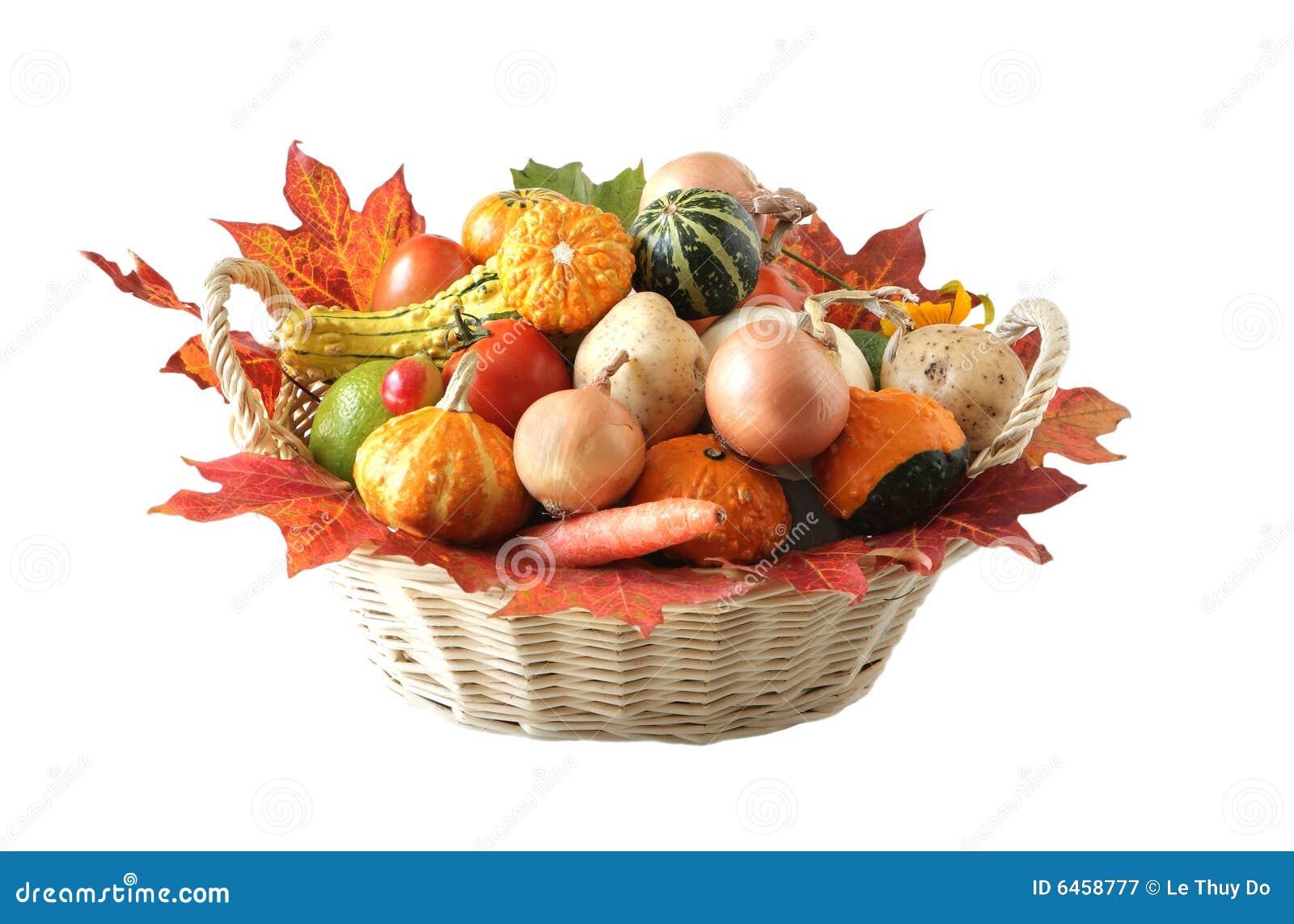 Jesienią warzyw
