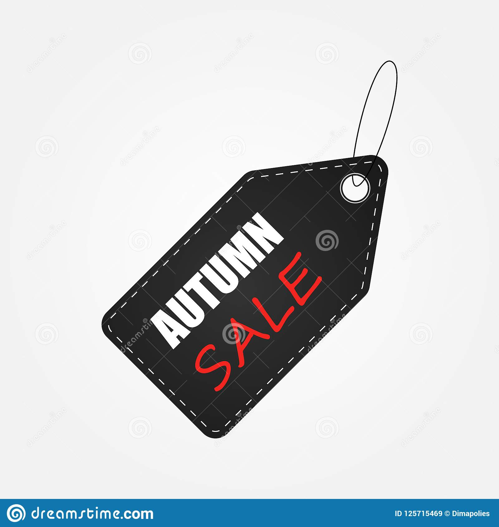 Jesieni etykietki sprzedaży tła układ dekoruje