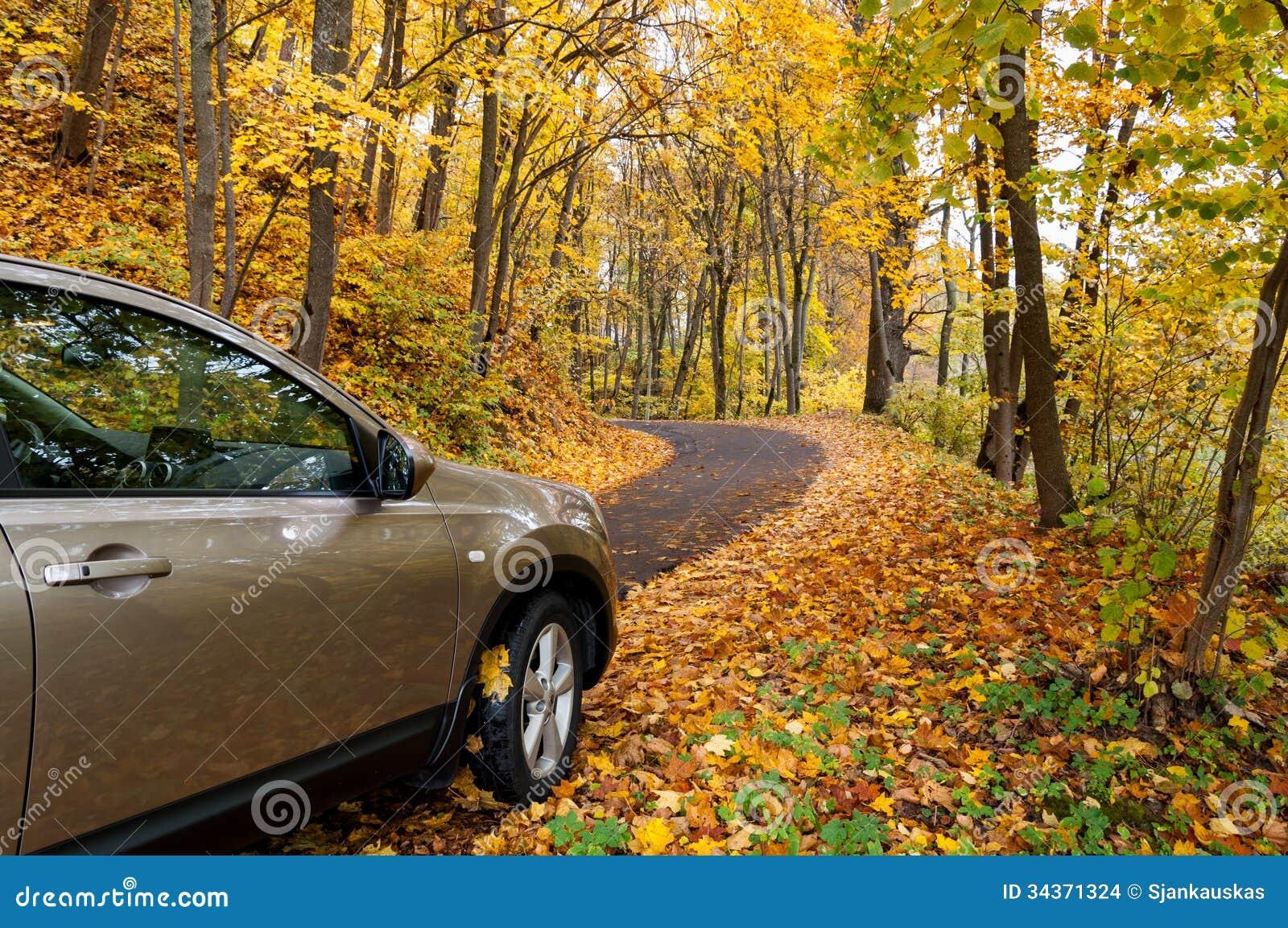 Jesieni jeżdżenie
