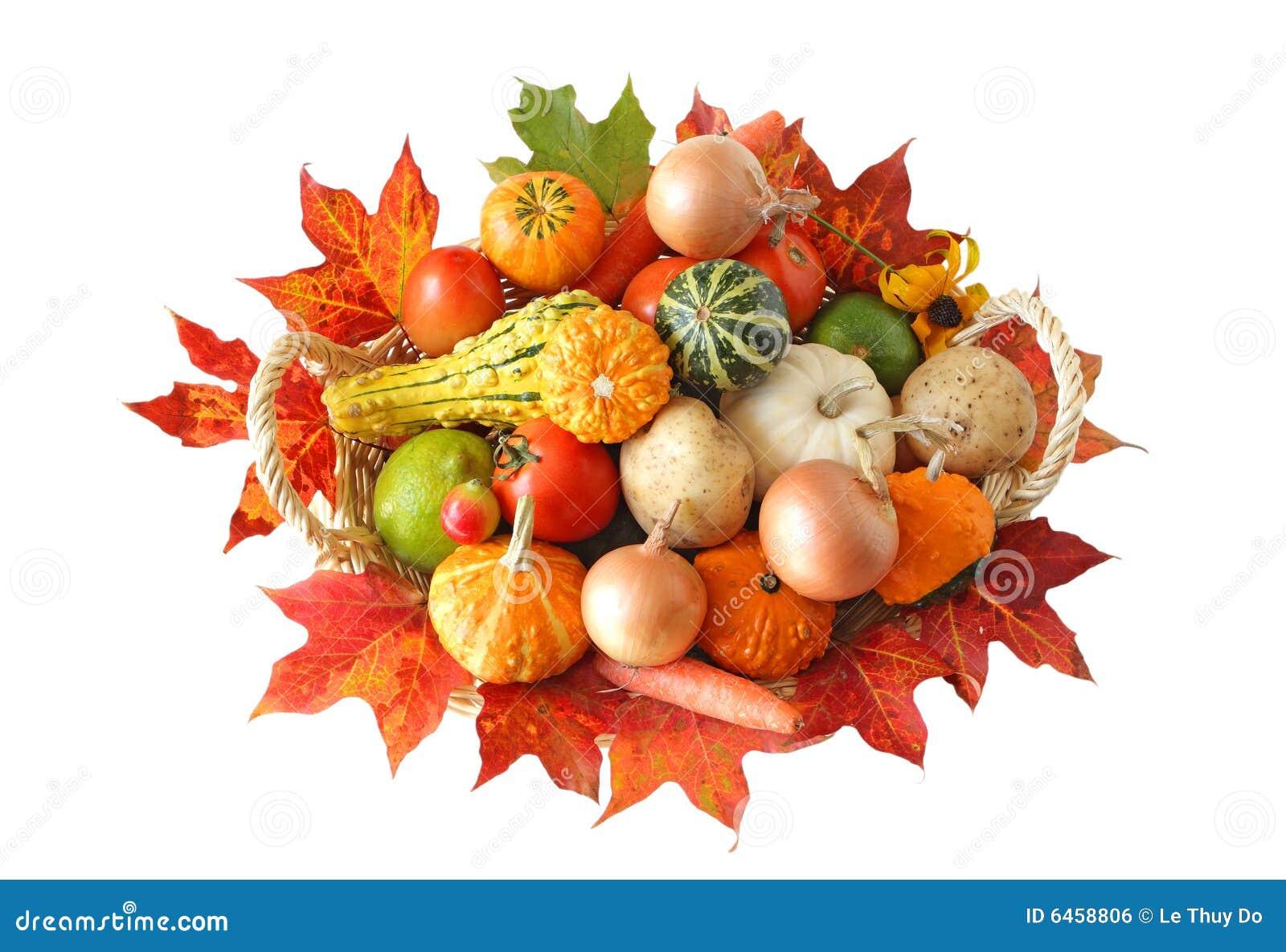 Jesieni warzywa