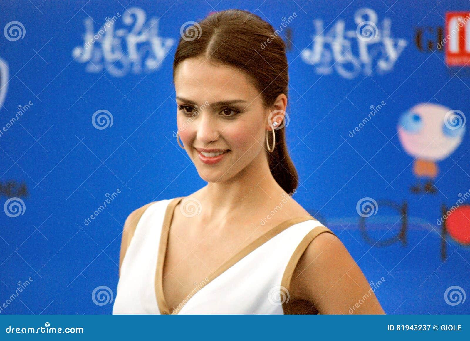 Jessica Alba al Giffoni Film Festival 2012