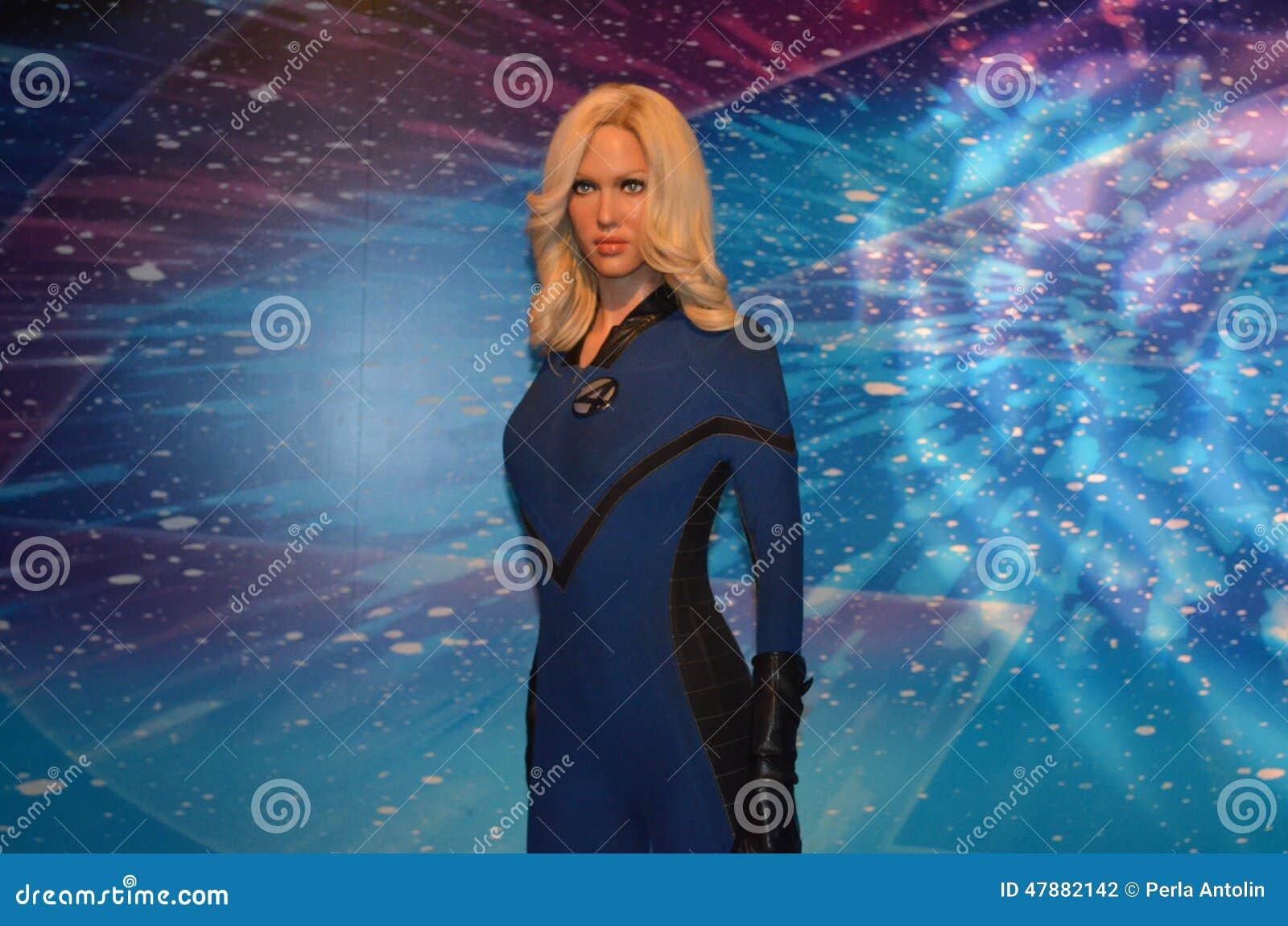 Jessica Alba Wax Figure