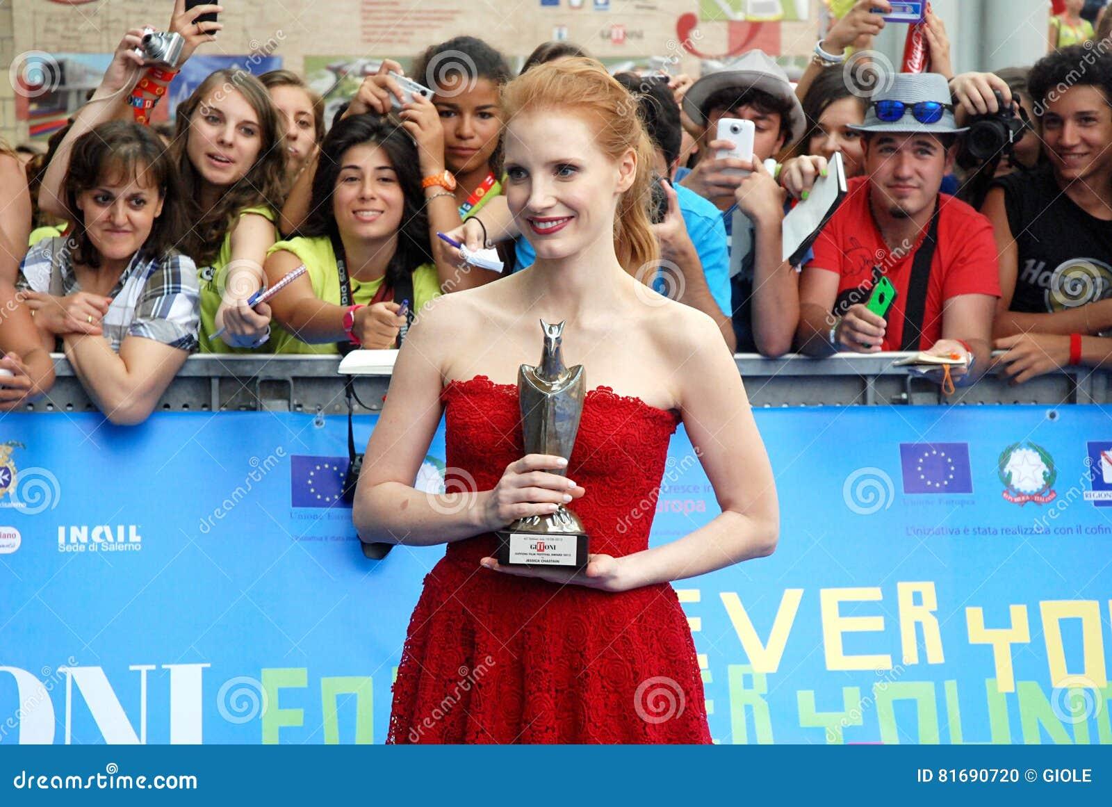 Jessica Chastain Al Giffoni Film Festival 21 Editorial Image ...