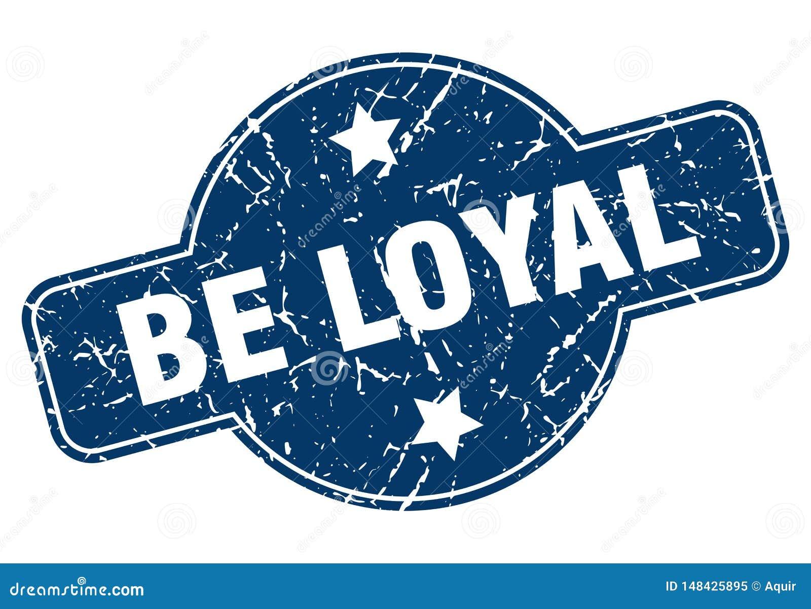 Jest lojalnym znaczkiem