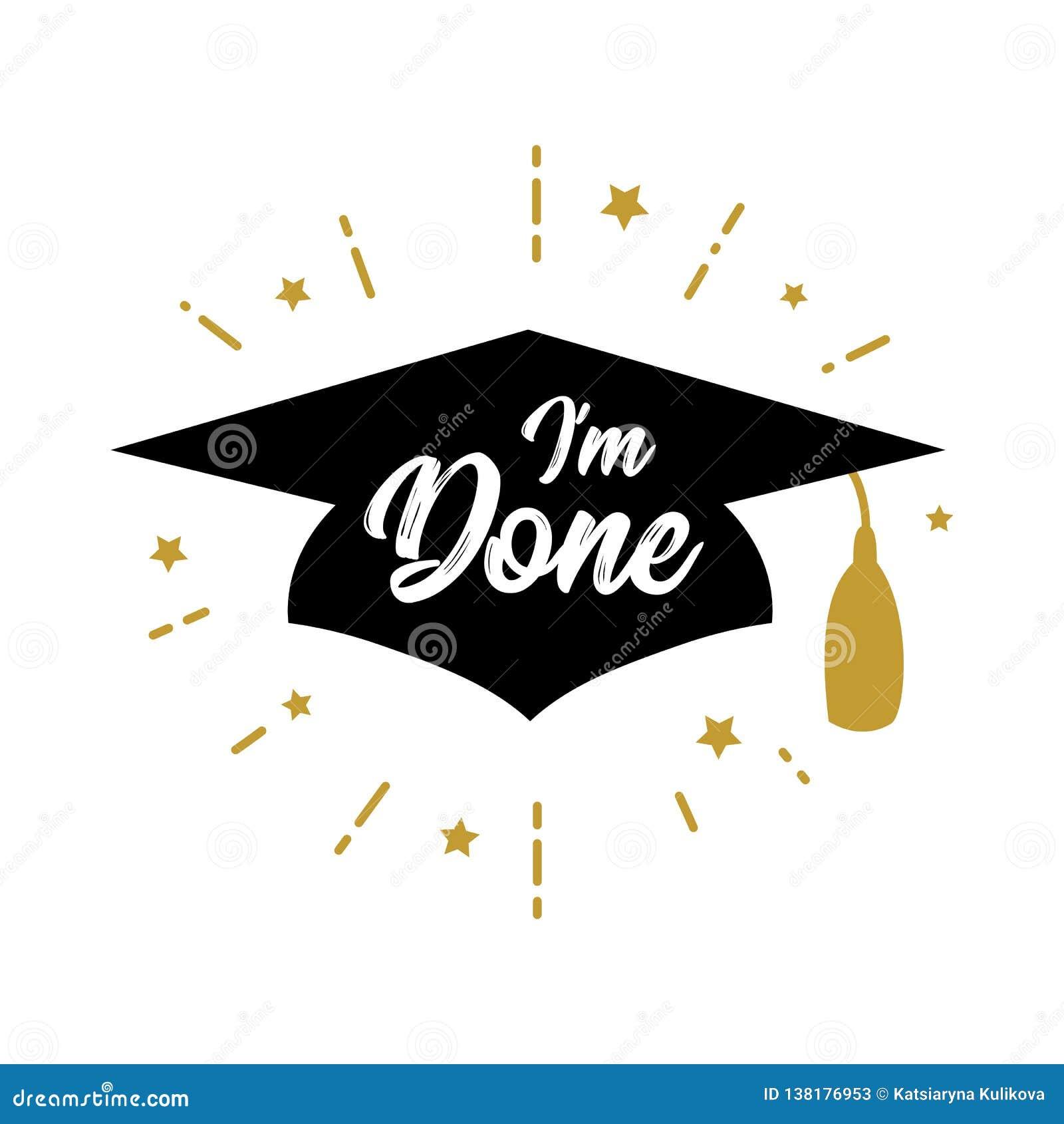 Jestem robić Congrats absolwentów klasą 2019 przyjęcie