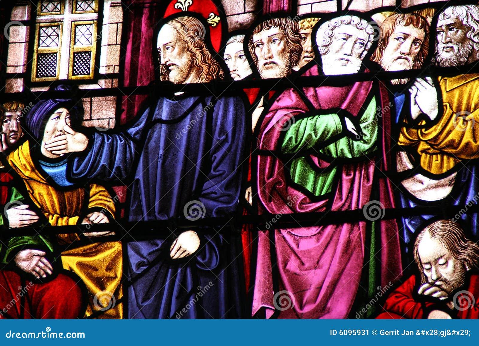 Jesucristo y sus discípulos