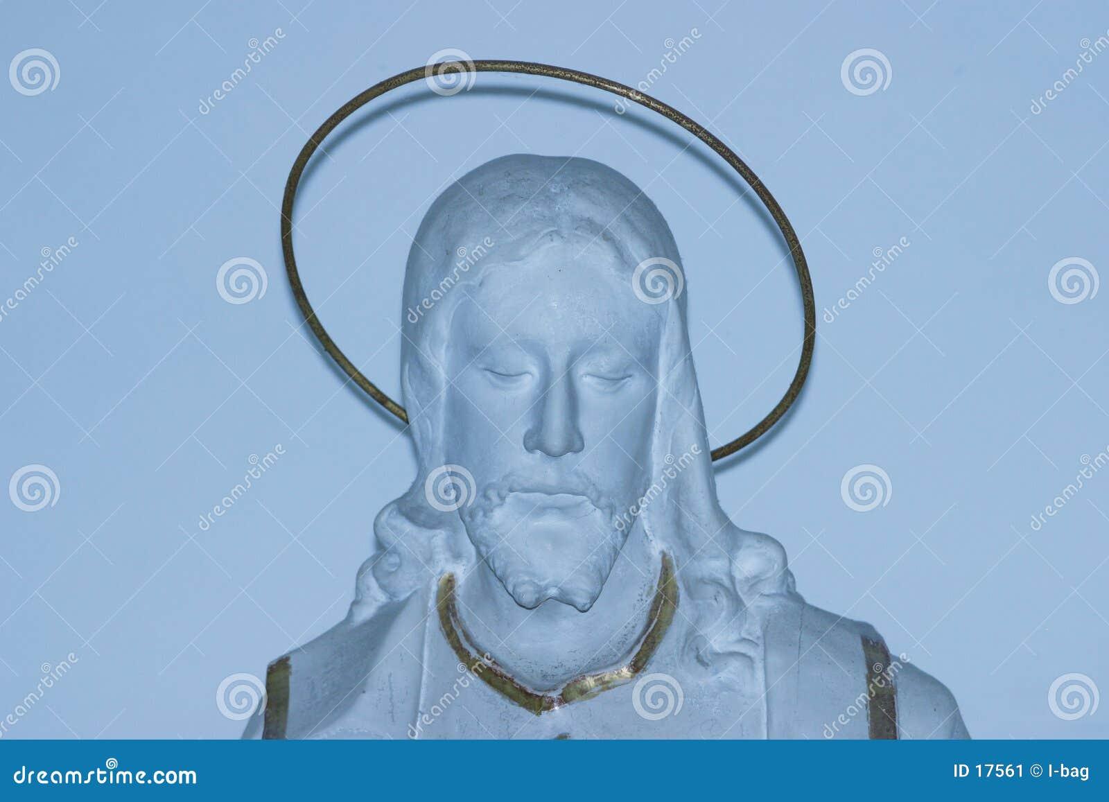 статуя jesus