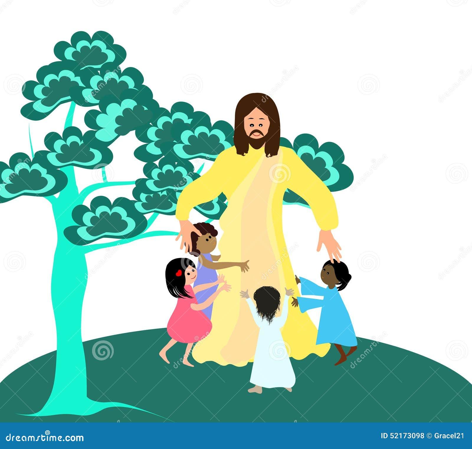 Jesus ama as crianças pequenas