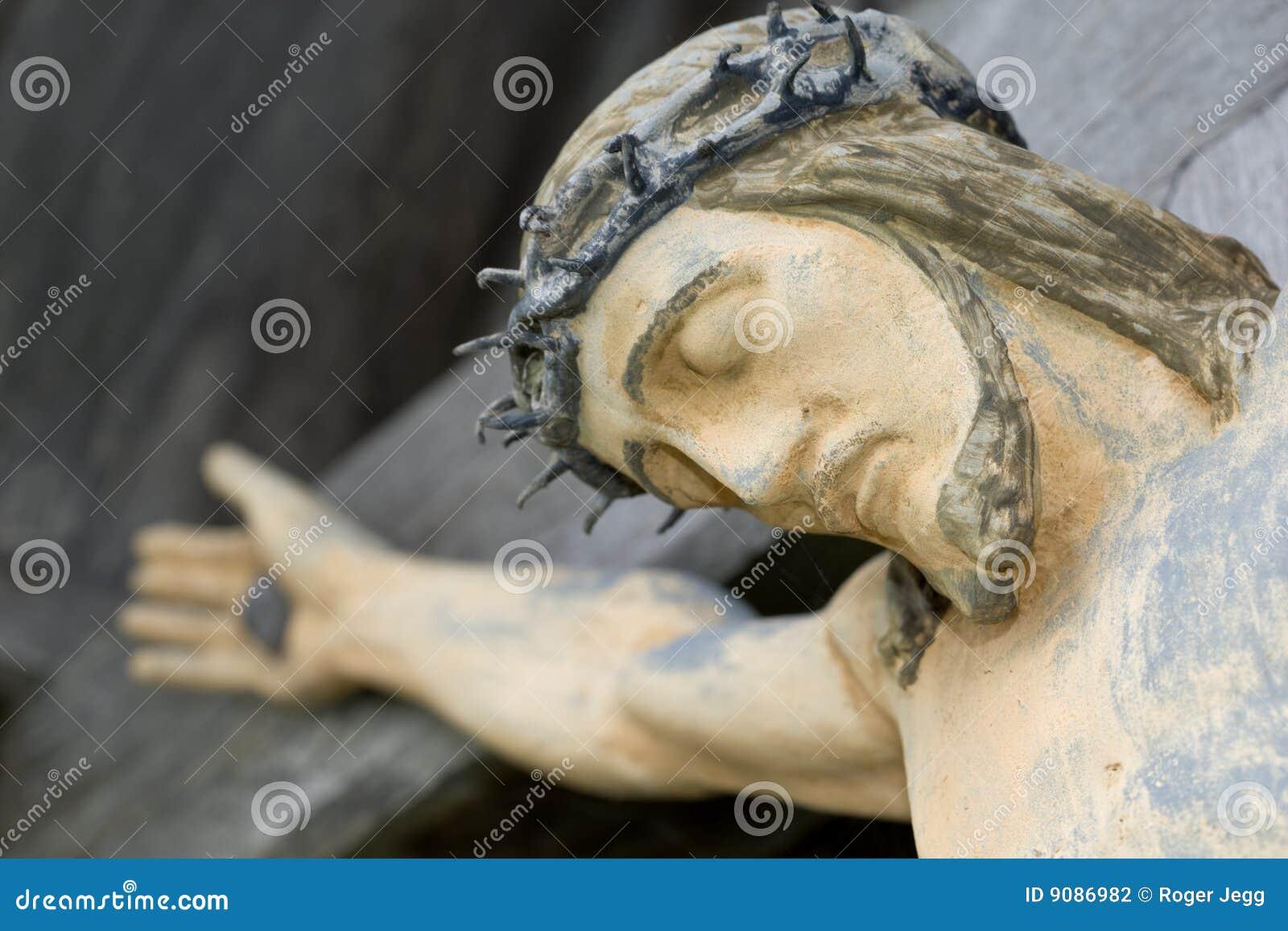 Jesus auf Kruzifix