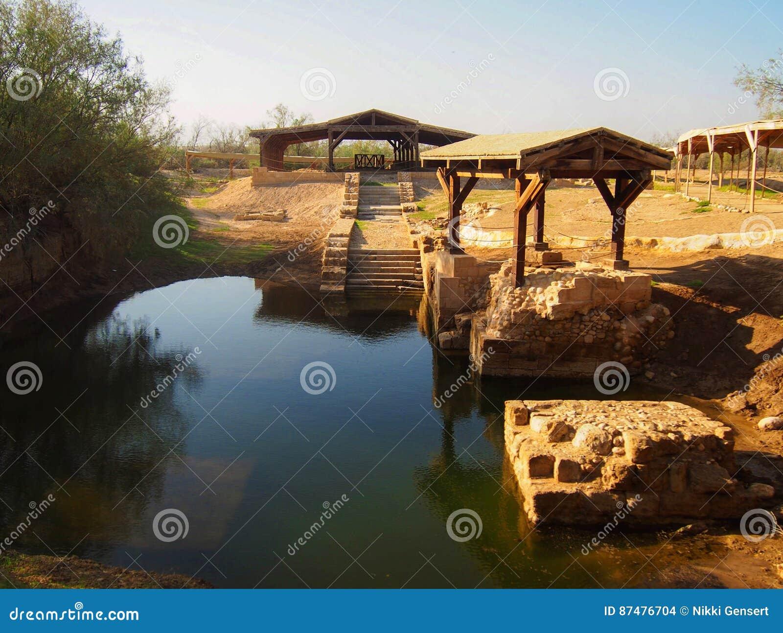 Jesus Baptism Site em Bethany Beyond Jordânia