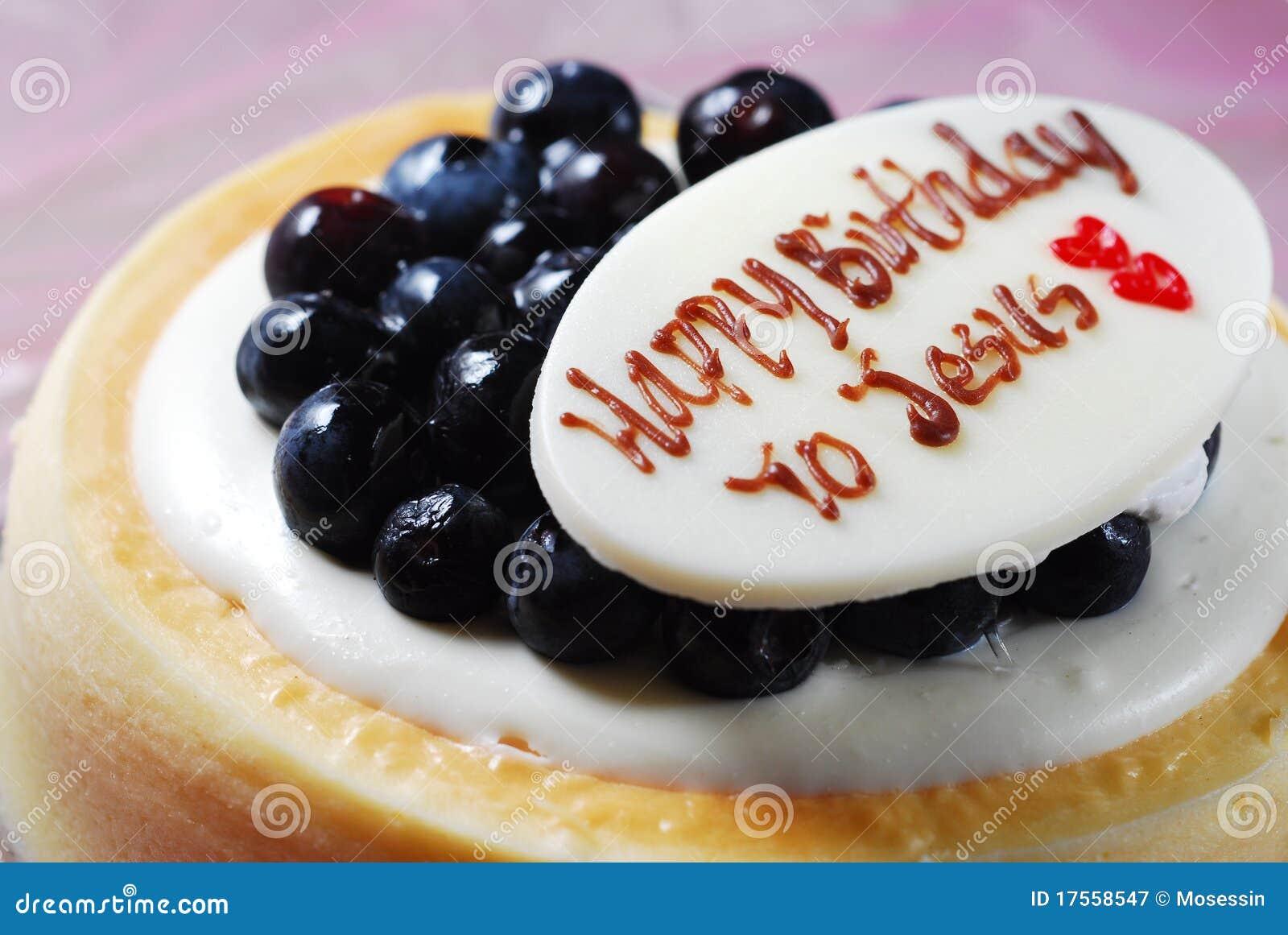 Jesus Birthday Cake Stock Image Image Of Cheese Passion 17558547