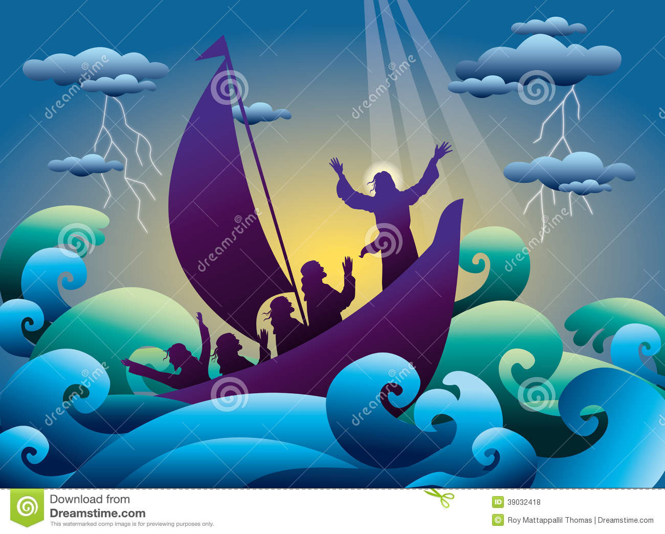 jesus calms the storm on the boat stock vector old ship vector free download cargo ship vector free download