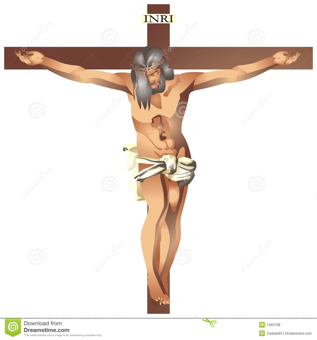 jesus christ in the cross royalty free stock photos image 1463708