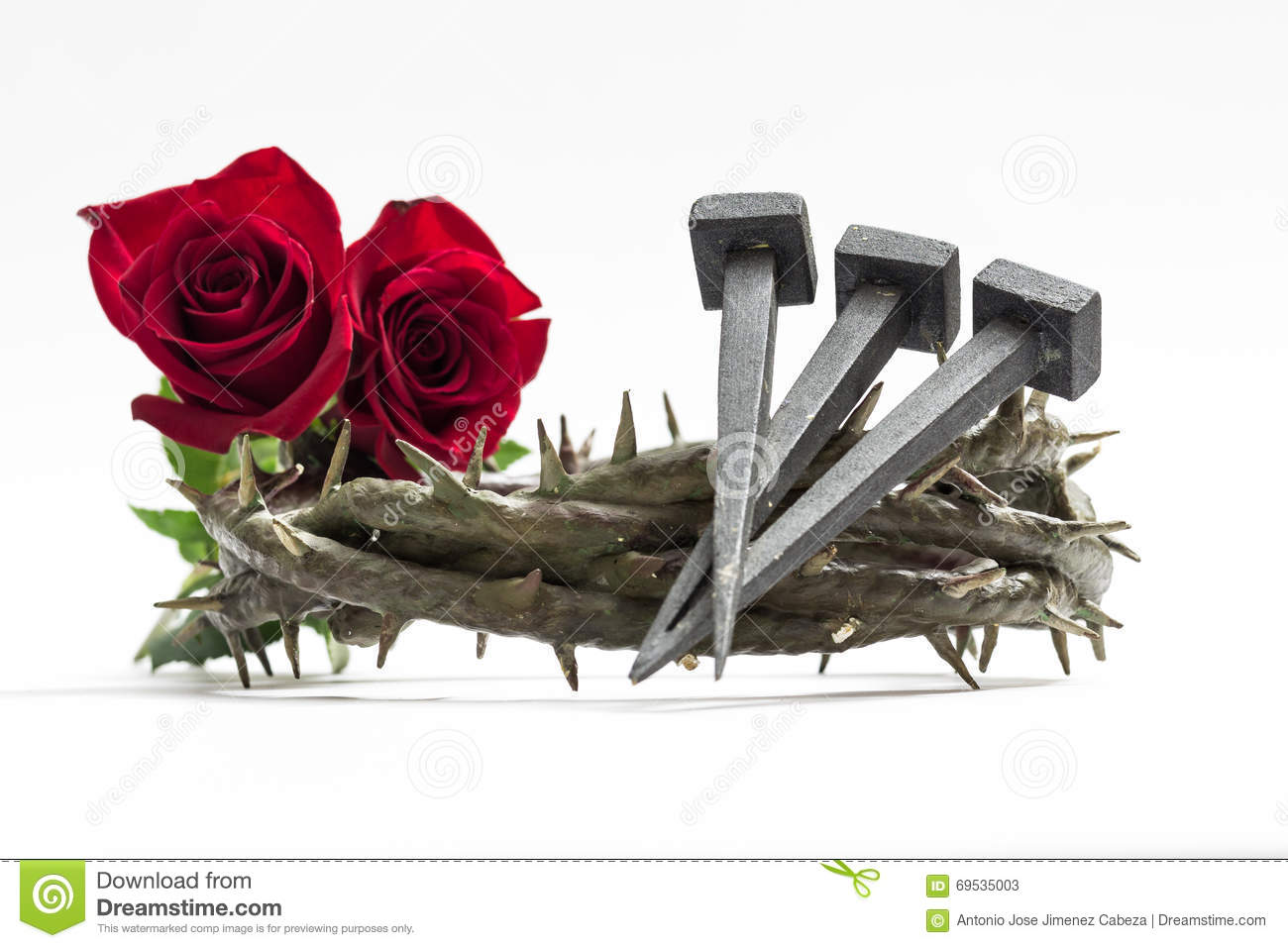 Jesus Christ Crown Thorns Nails Stock Photos 173 Images