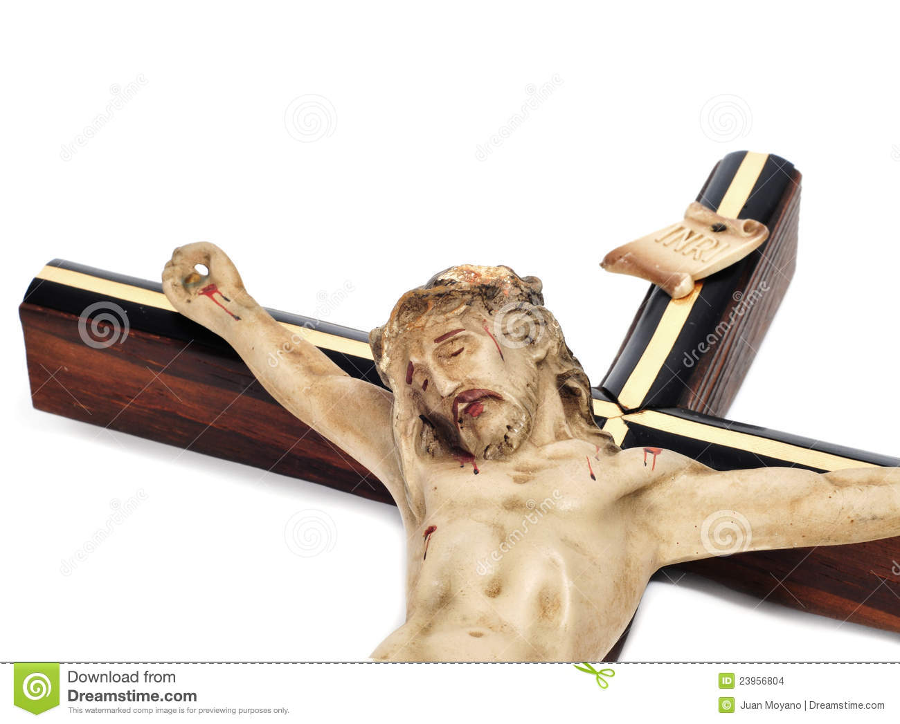 Jesus Christ in the holy cross