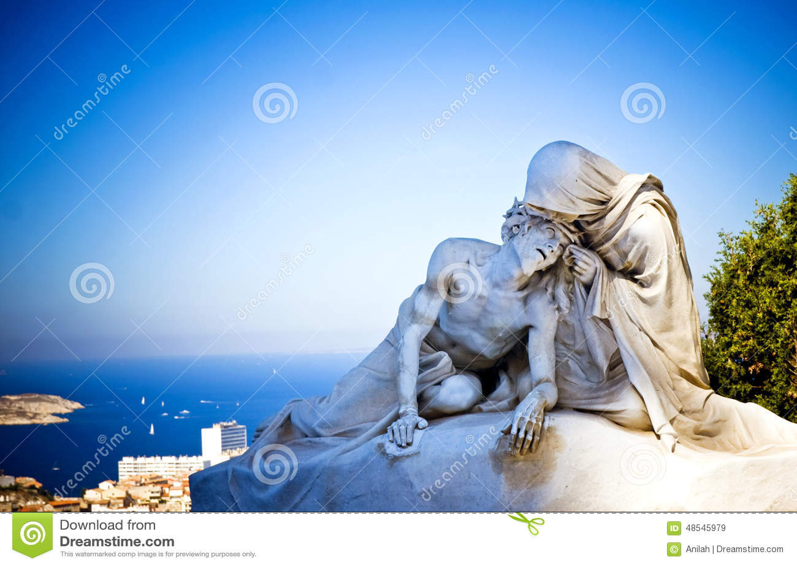 Jesus Christ mit Mutter