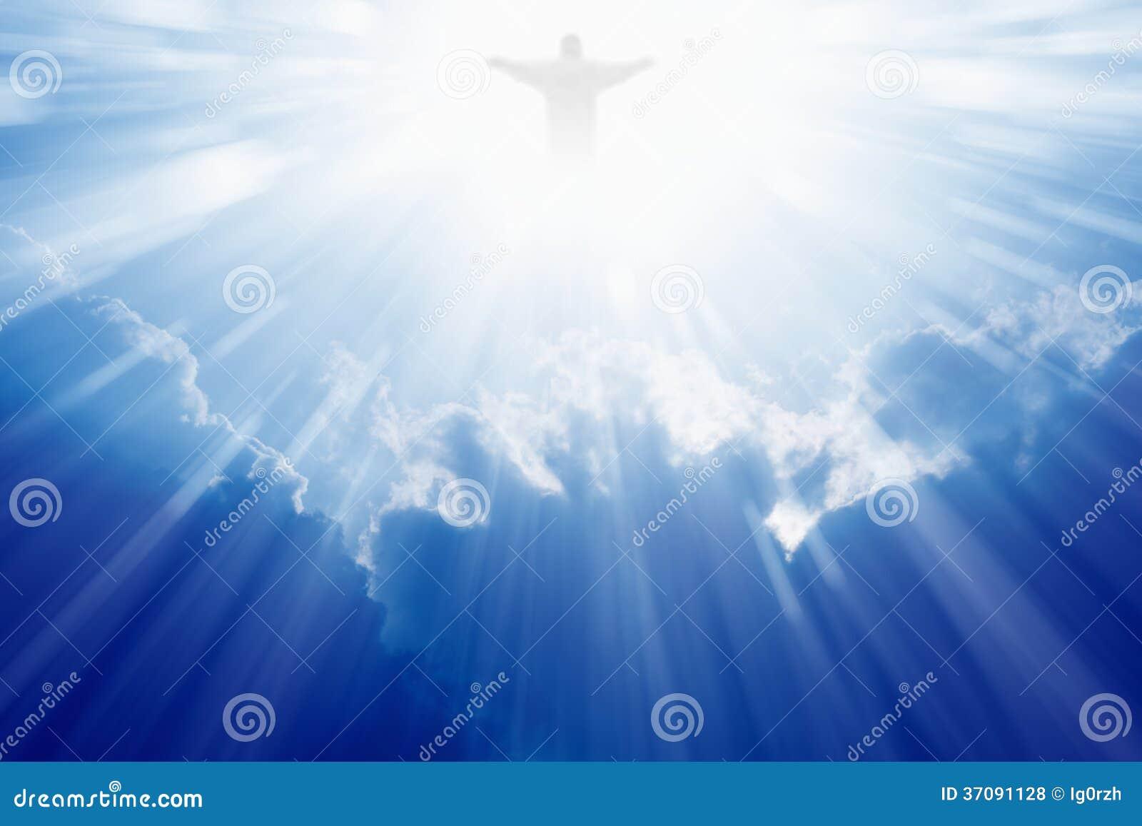 Jesus Christ nel cielo