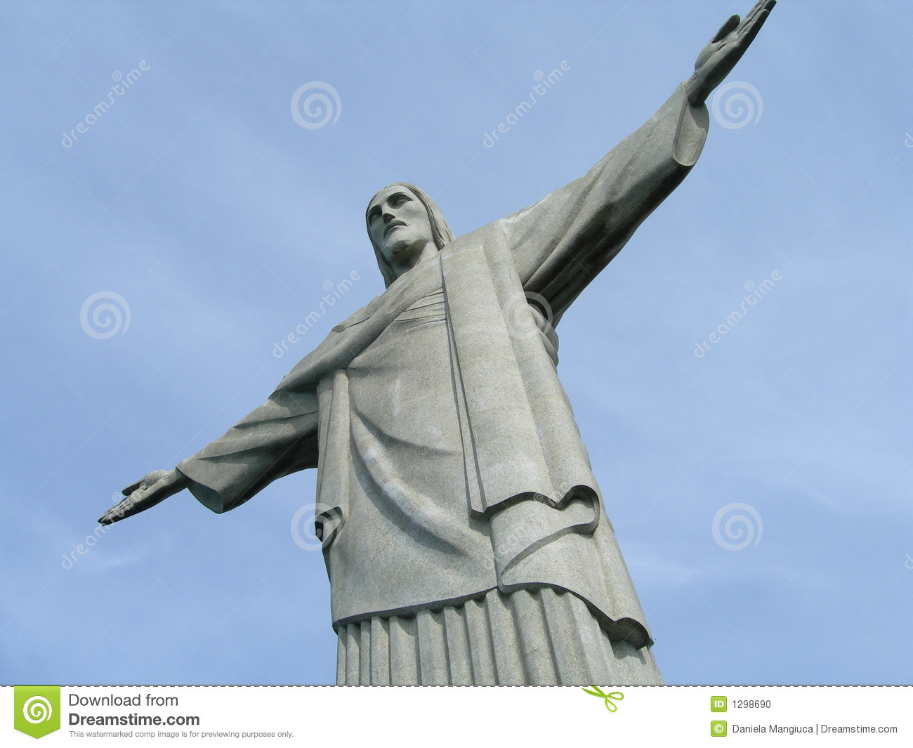 statue of jesus with thumbs up jpg 1500x1000