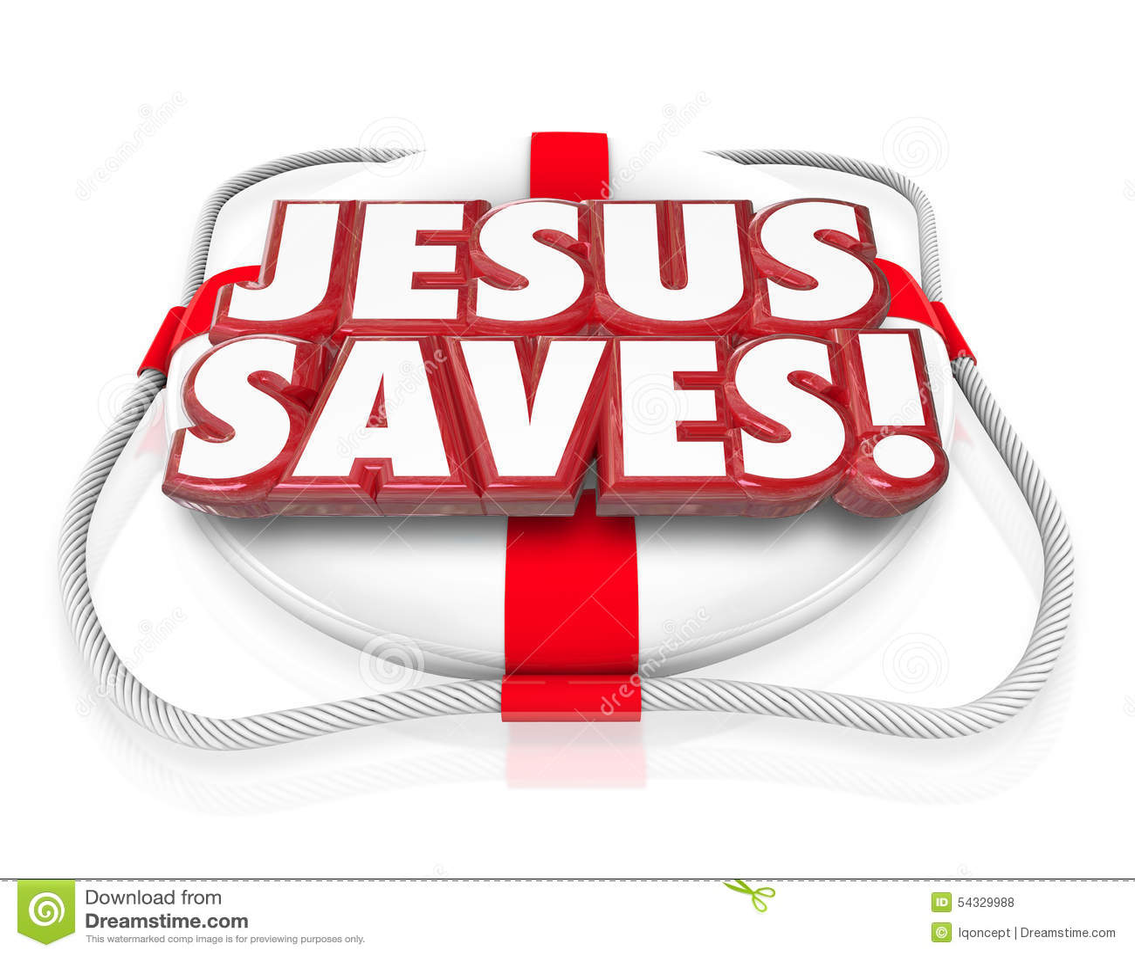 Jesus Christ Saves Religion Faith-Geistigkeits-Schwimmweste