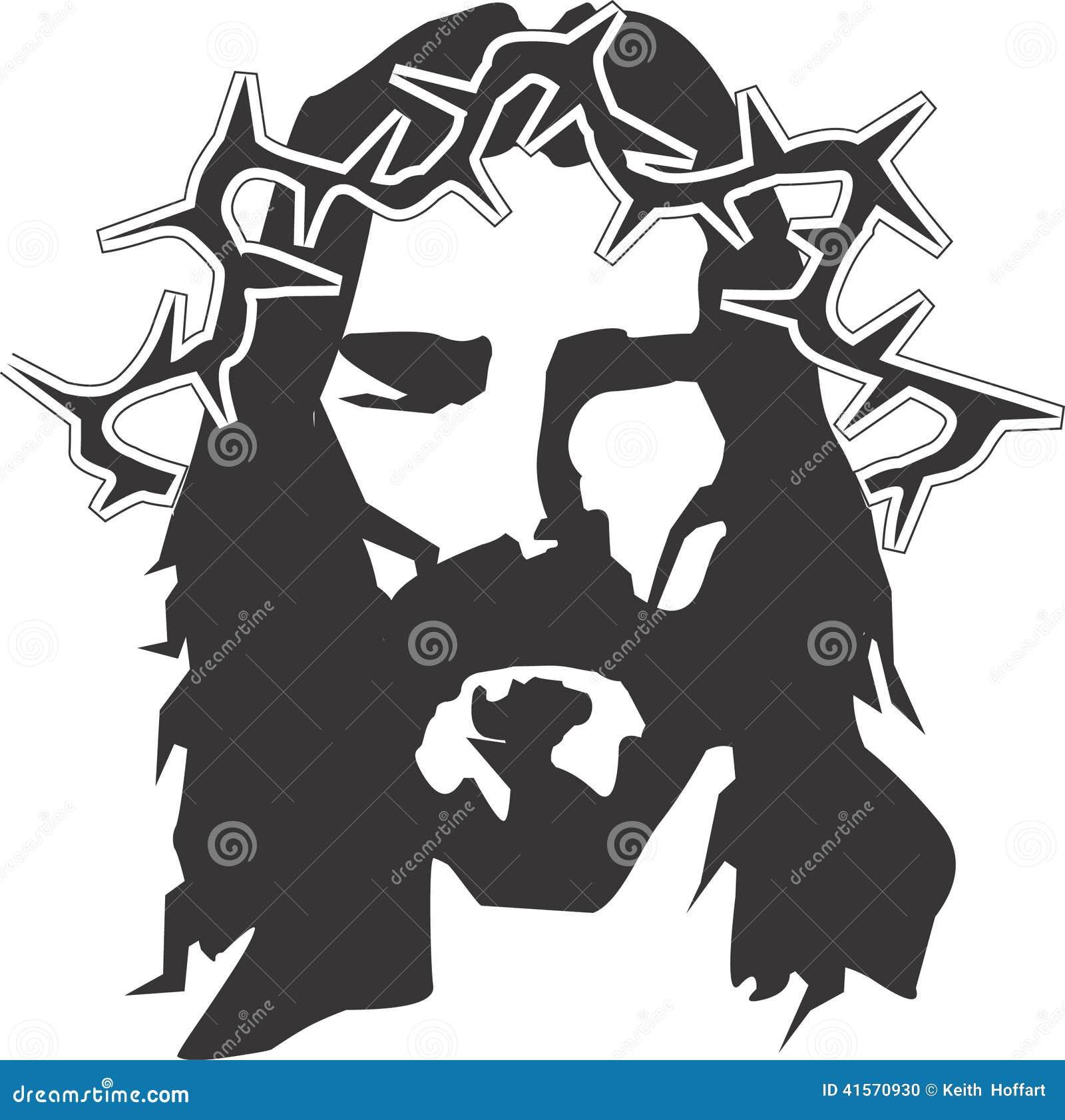 Jesus Christ Vector Design Clipart created in Adobe Illustrator in EPS ...