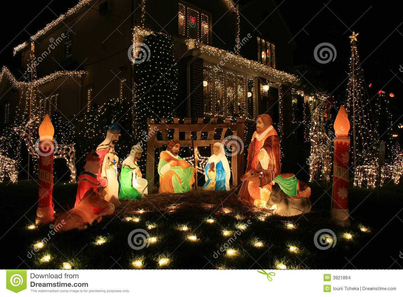 Jesus.Christmas Decoration. Stock Images - Image: 3921864
