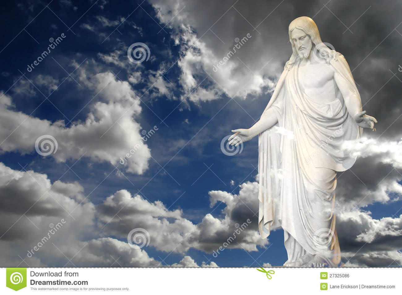 Jesus and Clouds