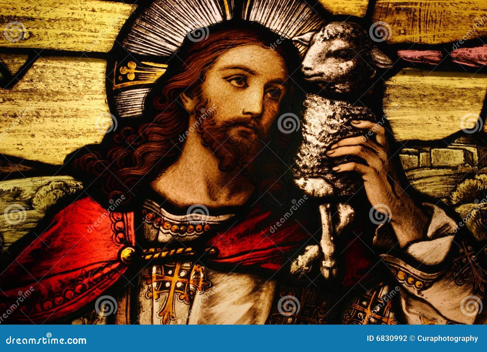 Jesus con l agnello