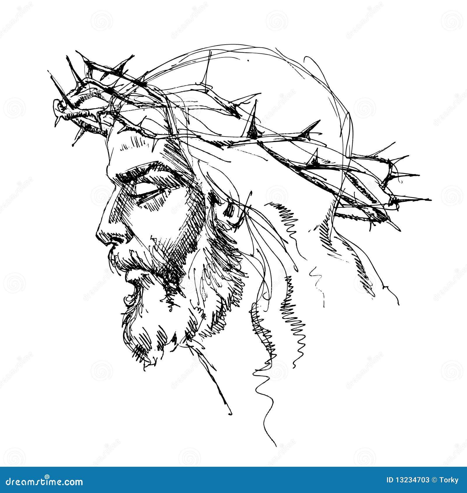 Fotos De Stock  Jesus Cristo   A Coroa De Espinhos