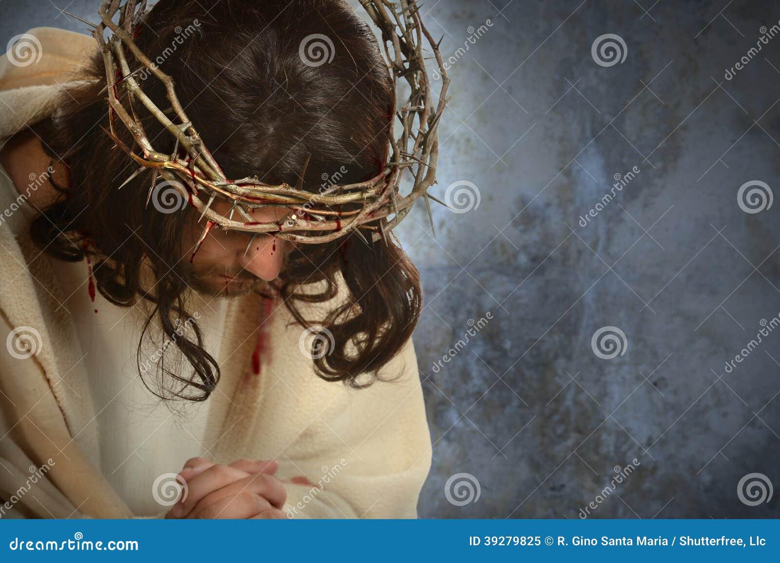 Jesus With Crown dos espinhos