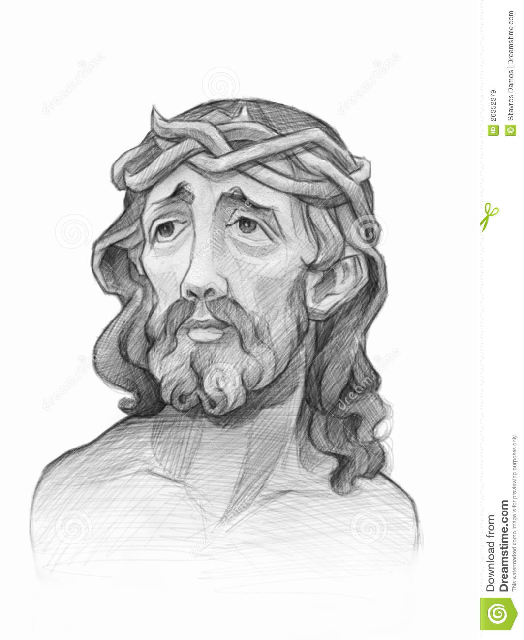 Free pencil drawings of jesus pencil drawings