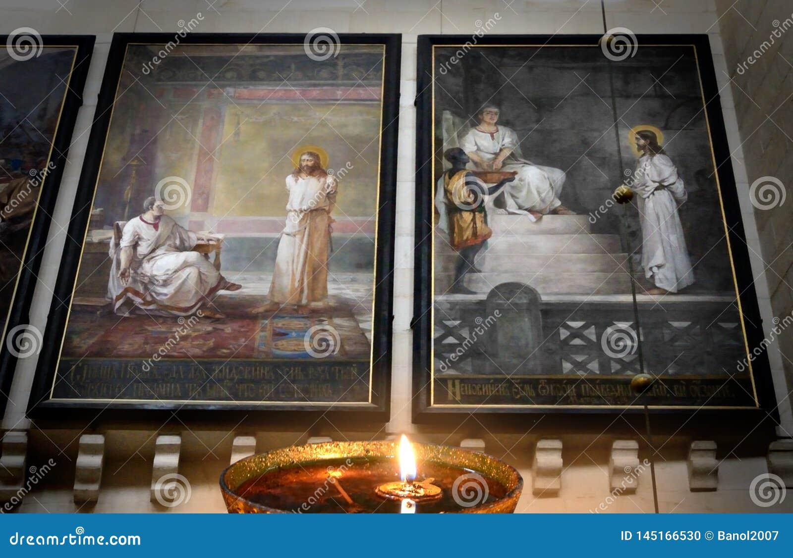 Jesus, Herod, P Pilatus Noite das experimenta??es senten?a