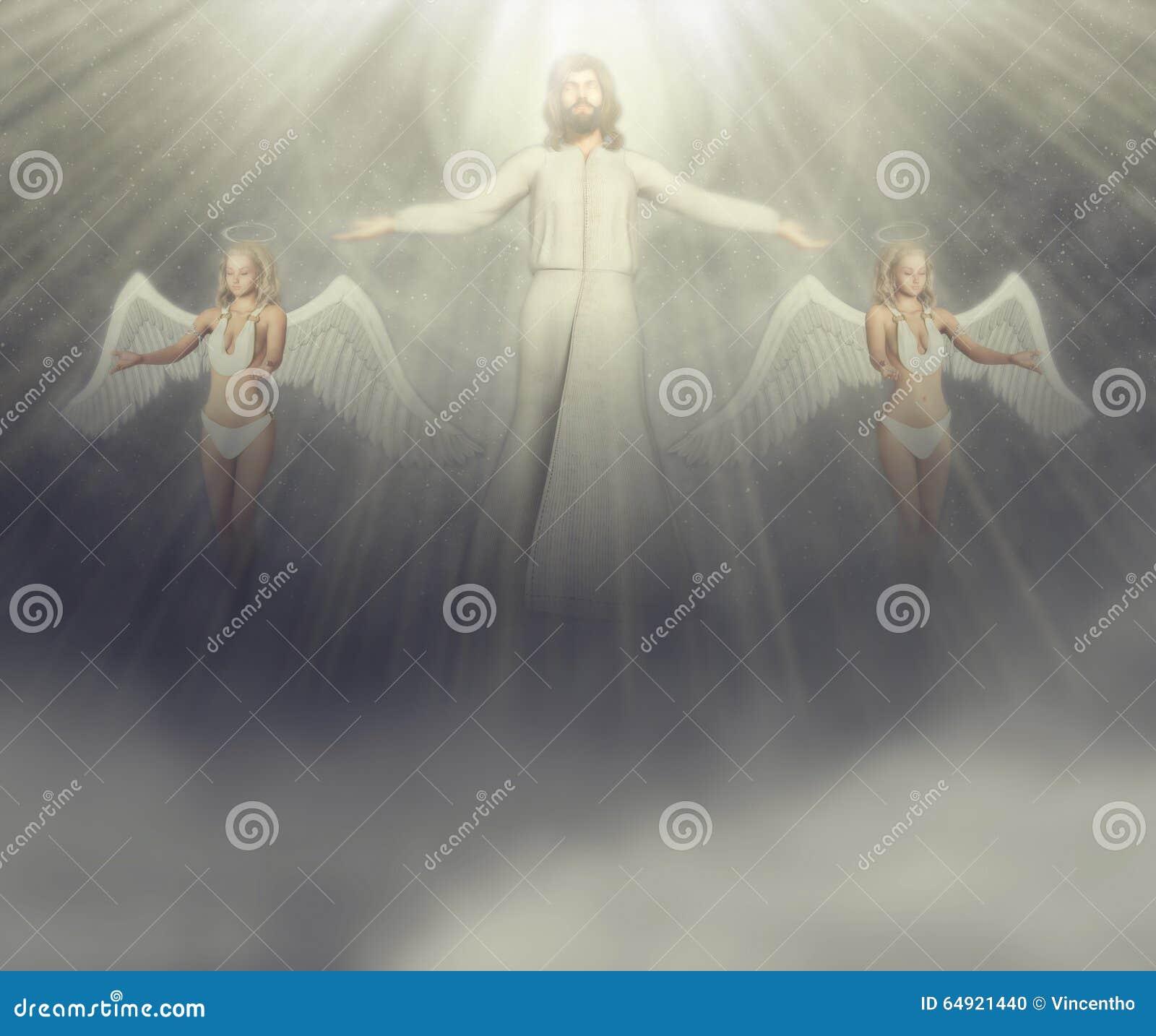 Jesus Christ Second Coming Stock Illustrations – 8 Jesus Christ ...