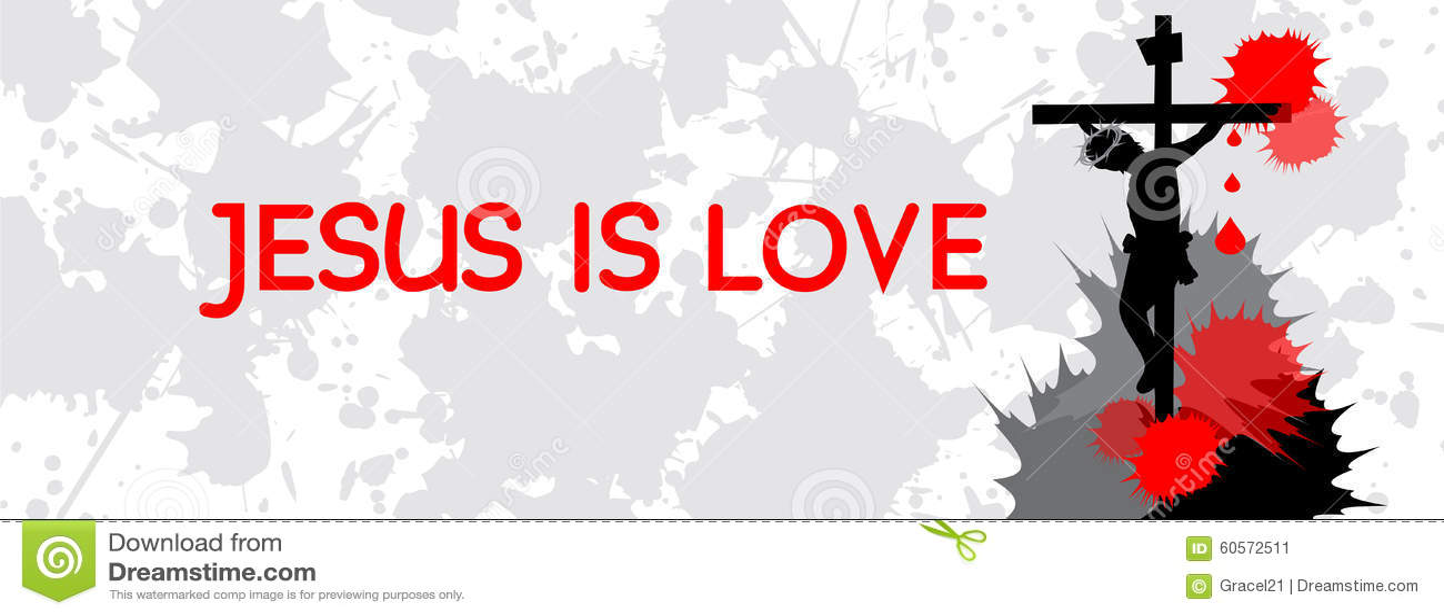 jesus is love timeline cover stock vector image 60572511. Black Bedroom Furniture Sets. Home Design Ideas