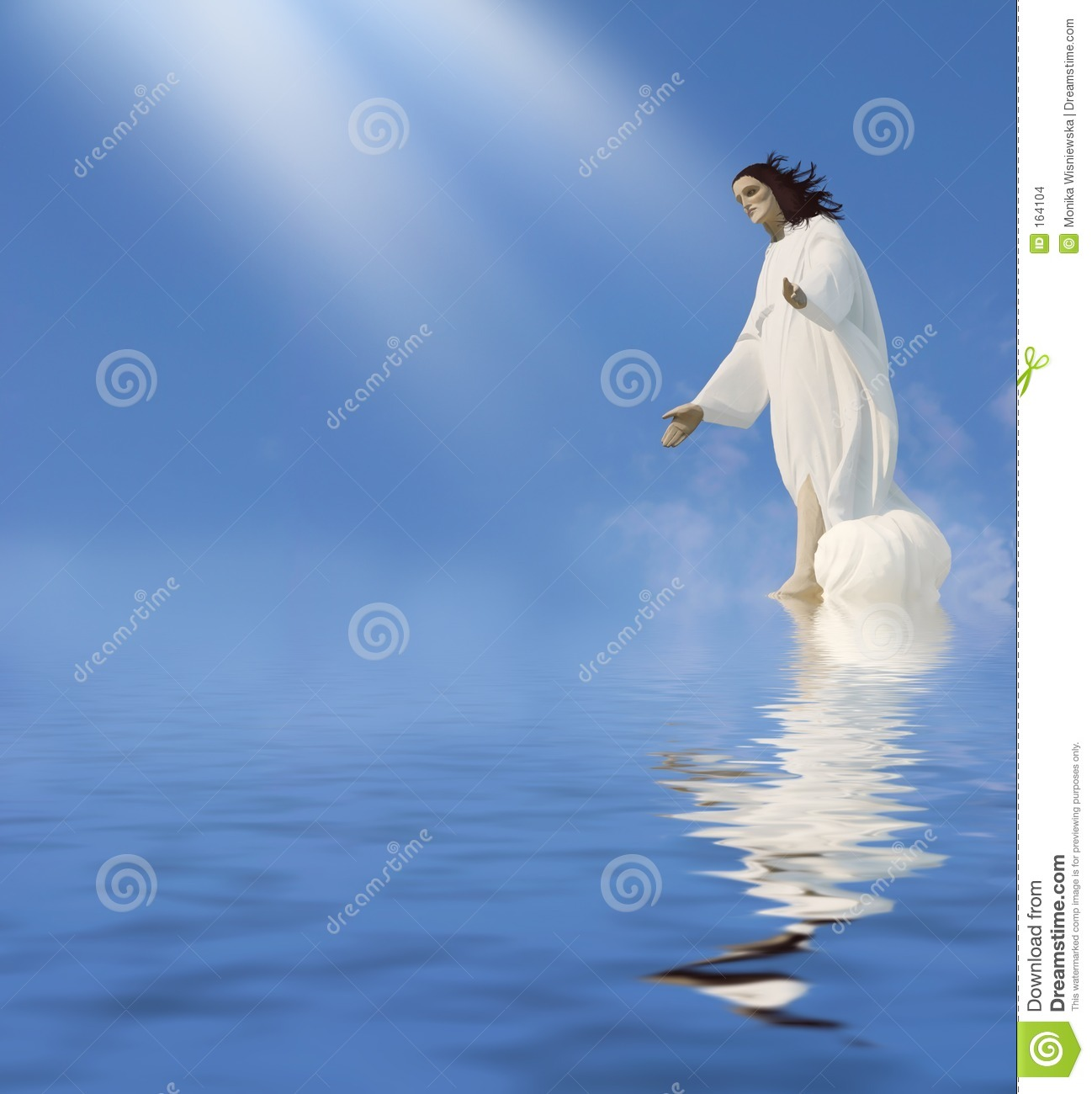 jesus miracle stock images image 164104