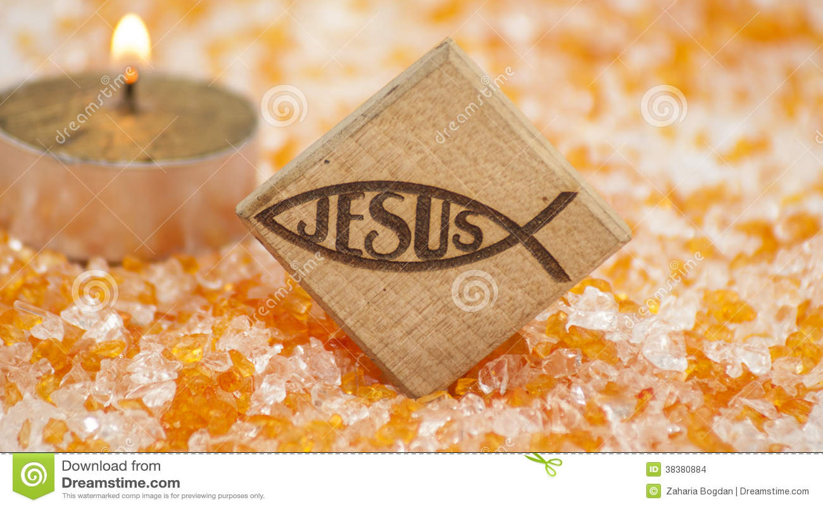 Jesus Name In Christian Symbol Stock Photo Image Of Symbolic