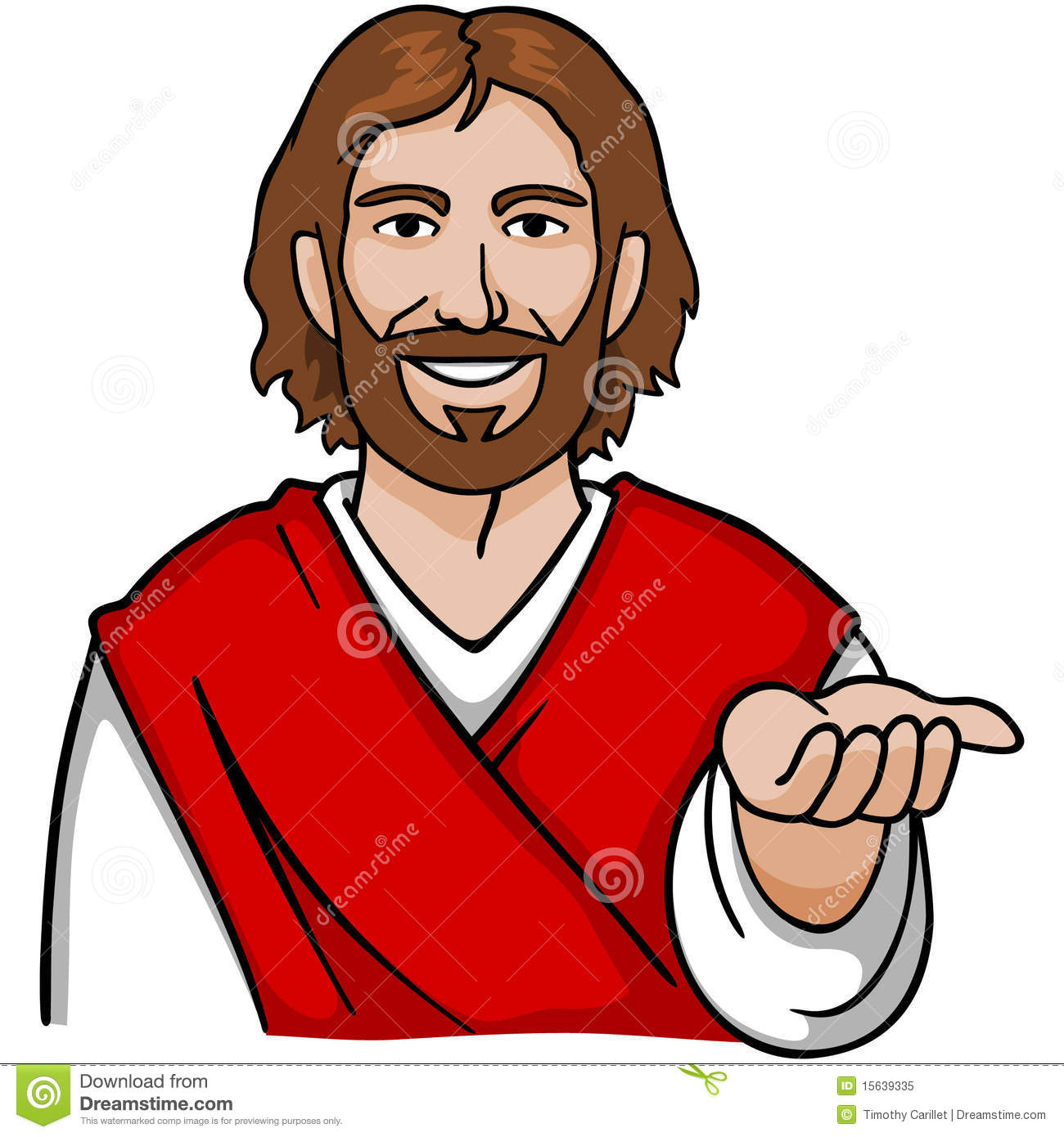 clipart cartoon jesus - photo #23