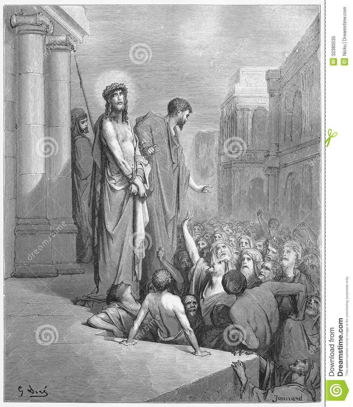Jesus Is Presented to the People