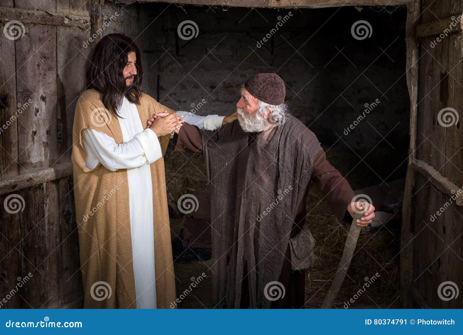 Jesus que cura o aleijado