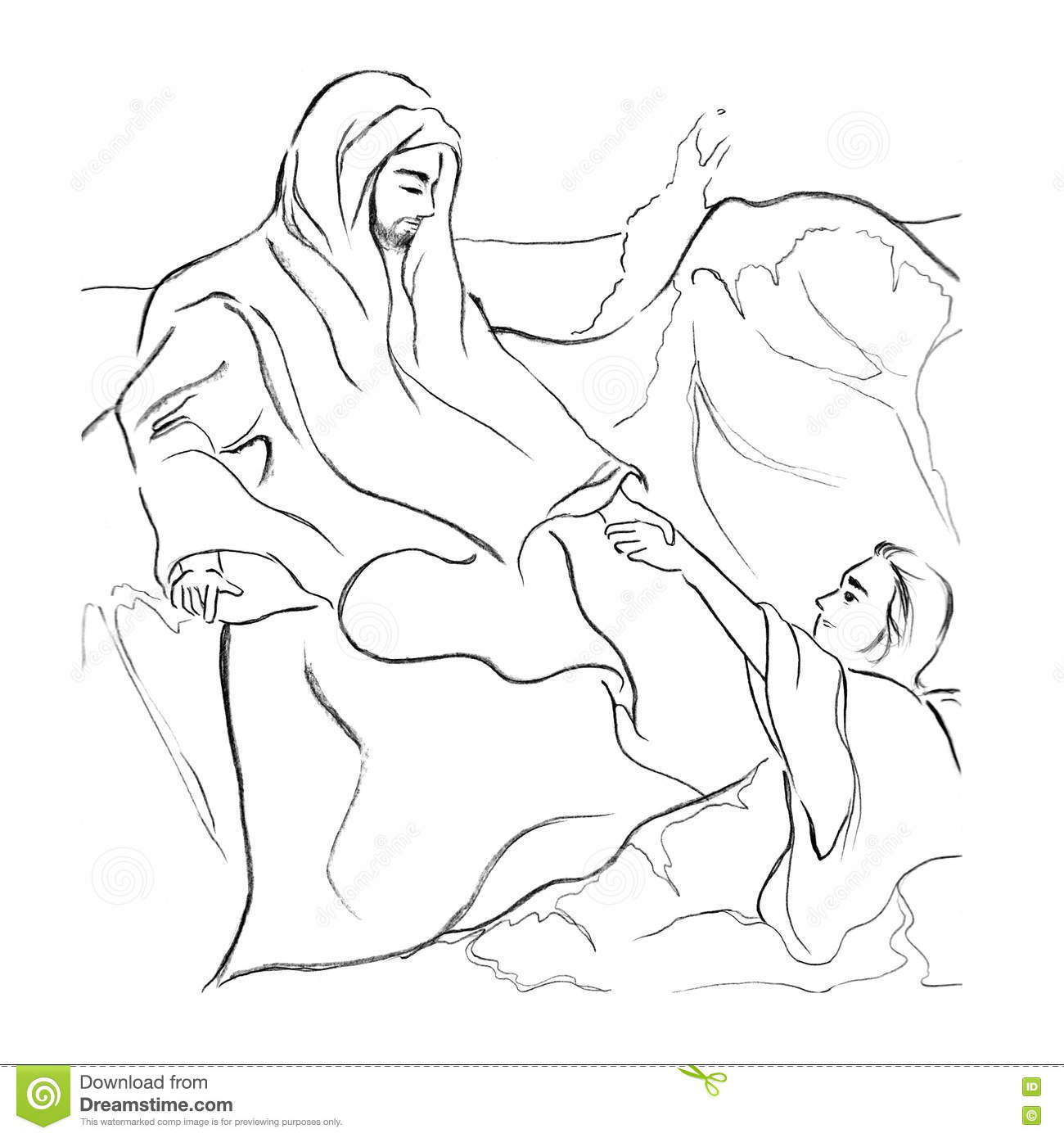 jesus walk on water and peter christianity bible story