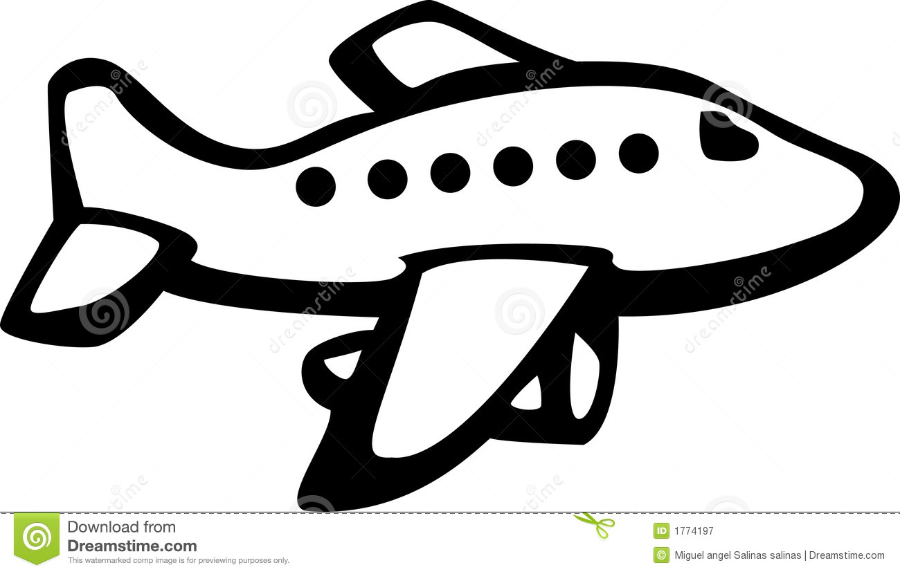 Soil Clipart Black And White Jet aircraft Royalty Free